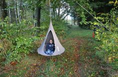 Bonsai Hanging tent - Ø 120 cm / For children by Cacoon
