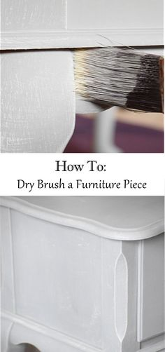 dry brushing technique