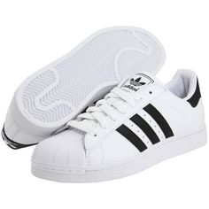 adidas Originals Superstar 2 (€66) ❤ liked on Polyvore featuring shoes, sneakers, adidas, chaussures, sneakers & athletic shoes, adidas originals shoes, adidas originals, grip trainer, traction shoes and adidas originals sneakers