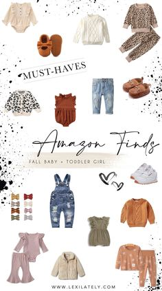 Girls Fall Outfits, Little Girl Outfits, Toddler Girl Outfits, Boy Outfits, Baby Fall Fashion, Toddler Fashion, Baby Girl Winter, Fall Baby, Fall Capsule Wardrobe