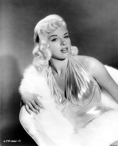 Diana Dors is all about glamour and curves