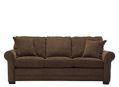 kathy ireland Home Madelyne Chenille Queen Sleeper Sofa