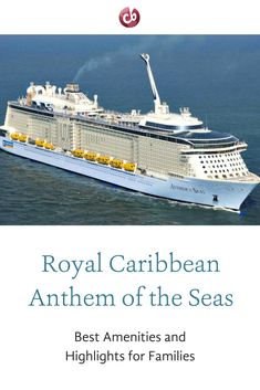 Royal Caribbean Anthem of the Seas — a new way to cruise with kids!
