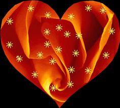 Num coração que brilha!!!