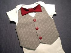 Hey, I found this really awesome Etsy listing at http://www.etsy.com/listing/161531702/baby-vest-bow-tie-baby-onesie-with