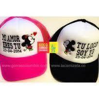gorras personalizadas con frases para novios - Buscar con Google