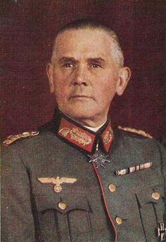 General Officers Werner von Blomberg