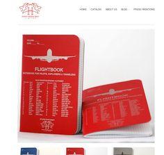 Halaby.aero – Notizhefte für Piloten und Entdecker | Notizbuchblog.de