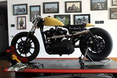 Harley Davidson Cafe Racer #motorcycles #motos #caferacer | caferacerpasion.com