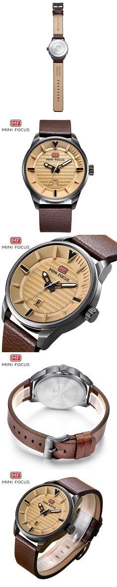 MINIFOCUS Top Fashion Famous Quartz Wrist Watch New 2017 Men Watches Male Brand Clock Hodinky Montre Homme Relogio Masculino