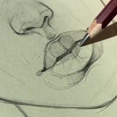 drawing lips step by step ; drawing lips step by step easy ; drawing lips step by step cartoon ; drawing lips step by step mouths Easy Pencil Drawings, Art Drawings Sketches Simple, Sketch Drawing, Drawing Poses, Drawing Lips, Easy Sketches To Draw, Broken Drawings, Tattoo Sketches, Hand Sketch