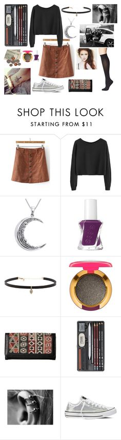 """""""Getting Out For a Day"""" by disney-geek-forever on Polyvore featuring SOREL, Carolina Glamour Collection, Essie, Carbon & Hyde, MAC Cosmetics, American West, Converse and Pretty Polly"""
