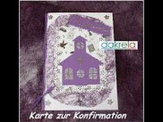 Video-Tutorial: Karte zur Konfirmation / Kommunion / Taufe basteln card#5/2014 [Tutorial]
