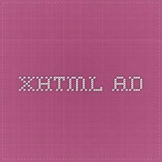 XHTML ad