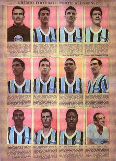 Gremio of Brazil team stickers for Retro Football, School Football, Football Team, Brazil Team, Football Stickers, Sport 2, Vintage Cards, Nostalgia, Soccer