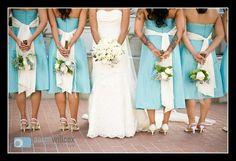 Bride & Bridesmaids -  Wedding Day Shoot Ideas