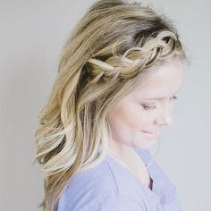 #smallthingshair #braid #instabraid Kate Bryan @ The small things blog! So gorgeous!!