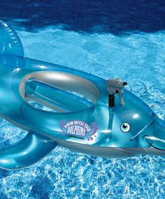 Swimline | Dolphin Water Squirter Float by Swimline #zulily #zulilyfinds