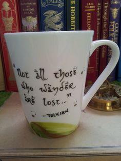 LOTR J. R. R. Tolkien mug  by MonocleCatMugs love their mugs!!