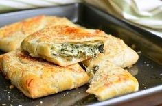 Spinach Artichoke Hand Pies - Will Cook For Smiles
