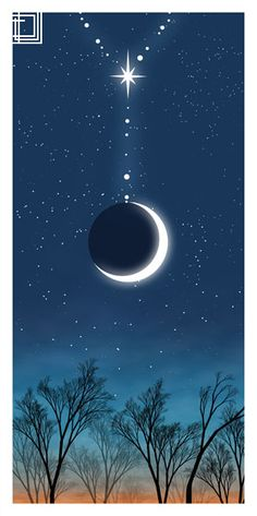 "Okay, this isn't ""words"" but it does give me an idea for a calligraphy piece. Every time I see a crescent moon ""hanging"" from Venus or Saturn, I take note. Moon Photos, Moon Pictures, Moon Pics, Sun Moon Stars, Sun And Stars, Nocturne, The Moon Tonight, Luna Moon, Moon Magic"