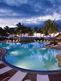 Take A Dip In One Of The Pools At Ritz Carlton Key Biscayne