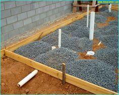 Aprenda o que é e como fazer Radier na construção civil! | Meia Colher