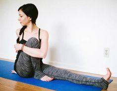 Yoga for Back Pain: Seated Leg Binding Twist