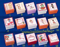 Κουτάκι με παραστάσεις για κορίτσι για μπομπονιέρα βάπτισης