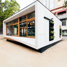The Archiblox Archi+ Carbon Positive House covers an area of 53 sq m (570 sq ft)