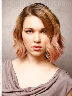 Pastel Bombshell Medium Style-am I brave enough to try funky colored hair?