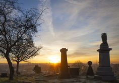 The sun rises over Middleton's old burial ground, snapped by photographer Andy Marshall. Light Take, Architectural Photographers, Rise Above, Built Environment, Mobile Photography, Sunrise, Architecture, Outdoor, Image
