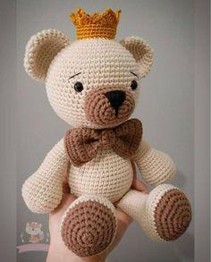 Who does not like a teddy bear? 🐻Rei Bear 💖Amigurumi made with love💖 ..., #amigurumi #teddy