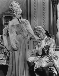 Lucille Ball and Red Skelton in Du Barry Was a Lady many of the clothes and wigs were previously from 1938 MGM Marie Antoinette I Love Lucy Dolls, Marry For Money, Marie Antoinette Movie, Madame Du Barry, Yves Saint Laurent, Lucille Ball Desi Arnaz, Lucy And Ricky, Red Skelton, Ballet Russe