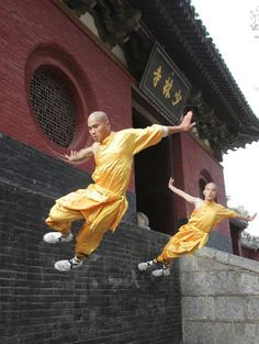 Shaolin practitioner is never an attacker, nor does he or she dispatch the most devastating defenses in any situation