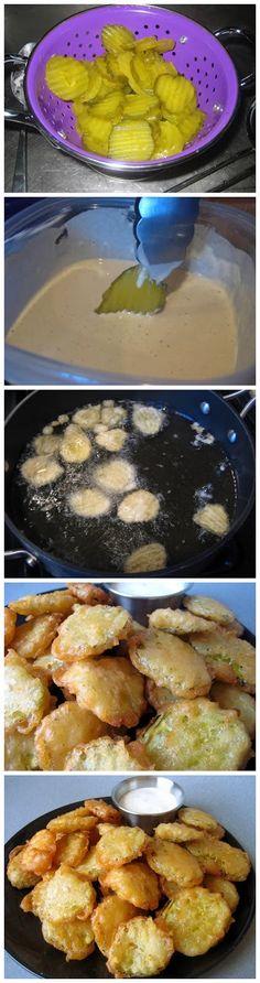 Fried Pickles | Food Blog