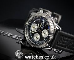 Breitling Chronomat Ref - A13352. Dated May 2003, this watch also comes with a Rouleaux (Bullet) Bracelet. We Buy and Sell Breitling Chronomat Watches. Contact Us - www.watches.co.uk