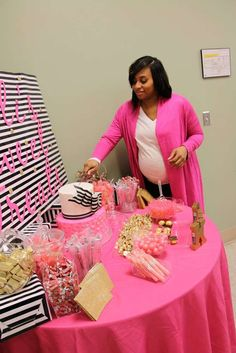 Kate Spade Baby Shower Party Ideas