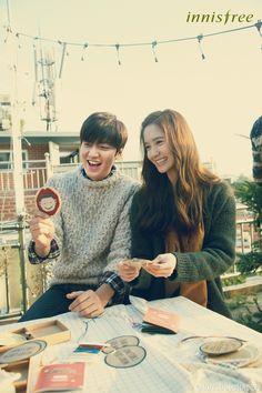Lee Min Ho & Yoona – innisfree Green Christmas