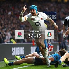 Twickenham 26/2/17. 3/3 in the 6 Nations and 17 victories on the bounce for England.