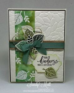 Thoughtful Branches - Stampin' Up! - created by Sandy Mott: