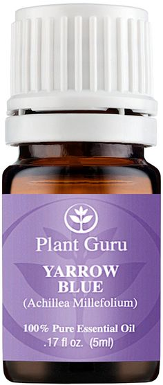 Yarrow (Blue) Essential Oil. 5 ml. 100% Pure, Undiluted, Therapeutic Grade. => Additional info  : lemon essential oil