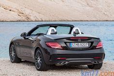 Mercedes-Benz SLC SLC 43 AMG Descapotable Negro Obsidiana Metalizado