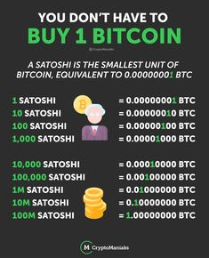 """So, if you live in the world, you are probably using some kind of national currency like INR, USD, GBP, or EUR.  Some national currencies (like USD) have a """"cent"""", which is 1/100 part of the currency.  Similarly, in the world of Bitcoin, there are very small currency units.  Satoshi represents one hundred millionths of a bitcoin. Small denominations make bitcoin transactions easier to conduct and makes extremely fine transactions readable. Investing In Cryptocurrency, Blockchain Cryptocurrency, Cryptocurrency Trading, Bitcoin Cryptocurrency, Was Ist Bitcoin, Buy Bitcoin, Bitcoin Price, Bitcoin Miner, Free Bitcoin Mining"""