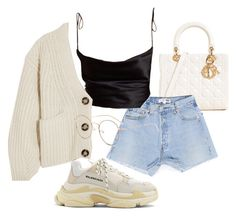 """""""Untitled #23241"""" by florencia95 ❤ liked on Polyvore featuring Balenciaga and Acne Studios"""