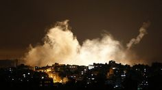 Large scale ground offensive.  Israel says more than 100 terror targets struck during Gaza incursion