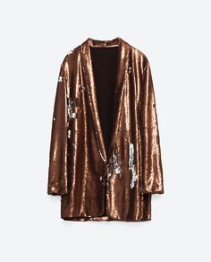 Image 8 of SEQUINNED BLAZER from Zara                                                                                                                                                                                 More