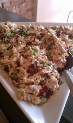Amish chicken salad- Making this in the morning before work!