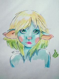 Elf Girl by Franky Carol. Repin with credit! How do you guys think I did?