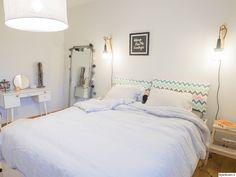 """""""aidinmatka"""":n makuuhuoneessa on söpö kampauspöytä. #makuuhuone #styleroom #kodinsisustus Bed & Bath, Sleep, Furniture, Home Decor, Decoration Home, Room Decor, Home Furnishings, Home Interior Design, Home Decoration"""